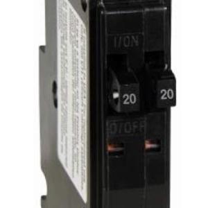 QO2020CP Single Pole Tandem Circuit Breaker