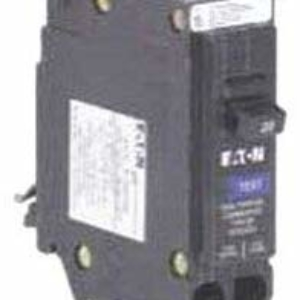 Eaton BRP120DF Plug-On Mount Dual Function Type BR Arc Fault/Ground Fault Circuit Breaker 1-Pole 20-Amp 120-Volt AC by Eaton