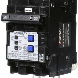 Murray 20 Amp 3-1/2 in. Double-Pole Combination AFCI