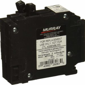 Murray MP1515 Two 15-Amp Single Pole 120-Volt Non-Current Limiting Circuit Breaker by Murray