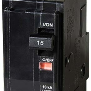 QO 15 Amp Two-Pole Circuit Breaker by Square D by Schneider Electric