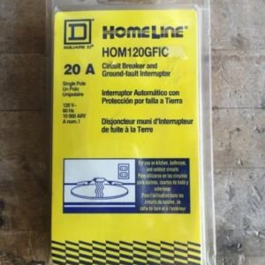 Square D HOM120GFIC. Circuit Breaker  by Square D