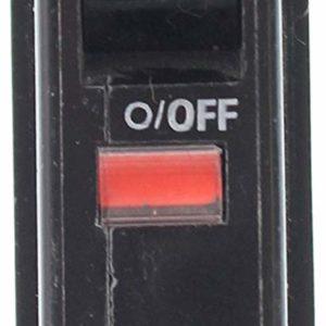 Square D QOB120 Bolt-On QOB Type Circuit Breaker, 120/240-Volt, 1-Pole, 20-Amp